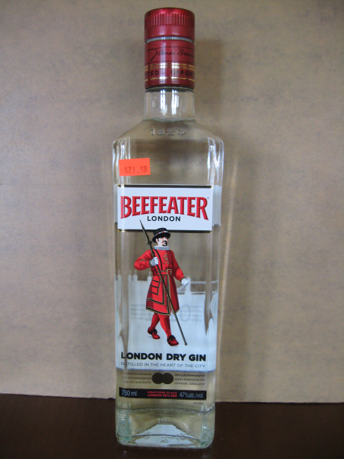 24 Hours Of Lemons >> Beefeater London Dry Gin 750mL – Honest Booze Reviews